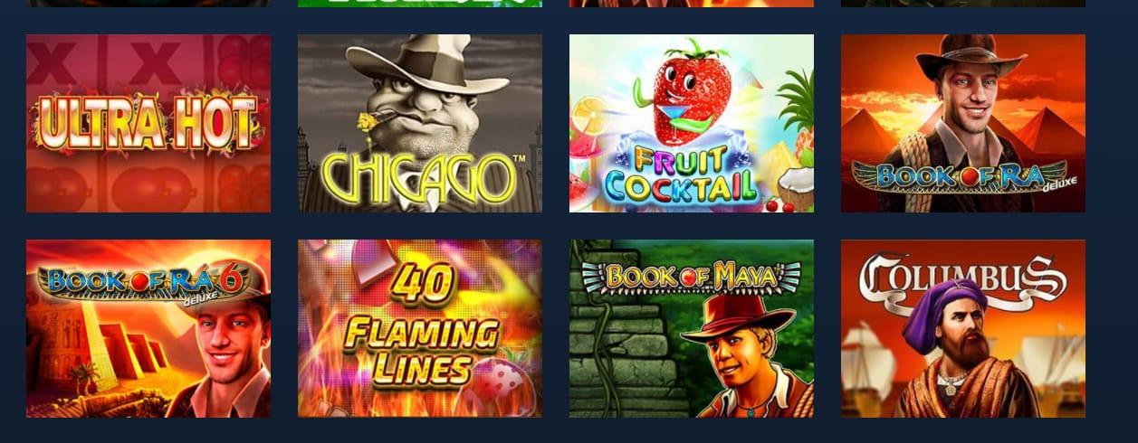 Ігрові автомати казино Голд Кап